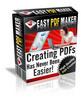 Easy PDF Maker - Create Killer Reports