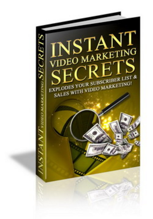 Product picture Instant Video Marketing Secrets - Conquer Your Market
